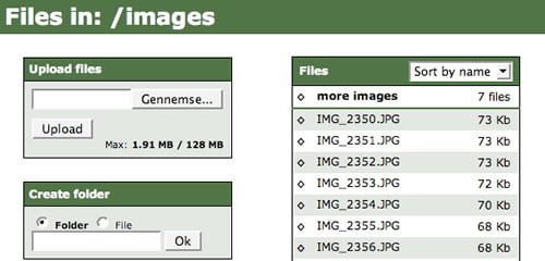 Ajax File Manager