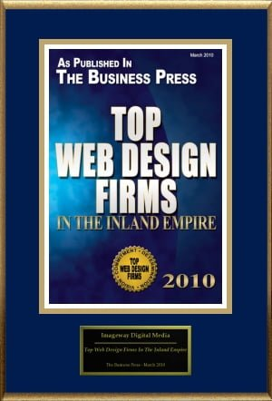 Imageway Redlands Ca Web Design Redlands California Web Design